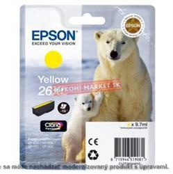 Atrament Epson T2634, 26XL Claria, yellow XP-600/700